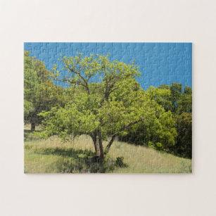 Puzzle de ciel de colline d'arbre