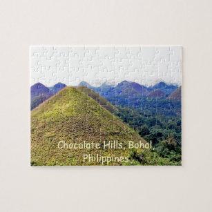 Puzzle de collines de chocolat