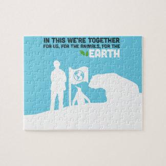 Puzzle de conservation de la terre