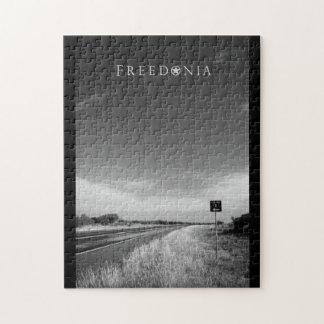 Puzzle de Freedonia - route X du comté
