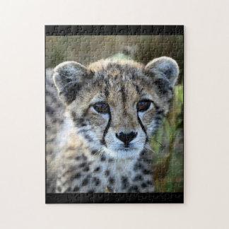 Puzzle de guépard de bébé