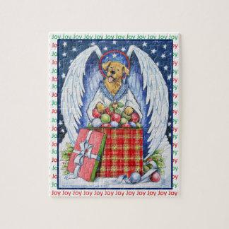 Puzzle de joie de Noël de l'ours