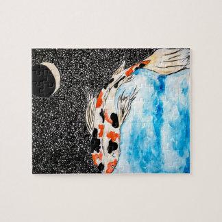 Puzzle de Koi de l'espace