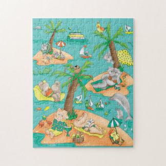 Puzzle de magie d'île