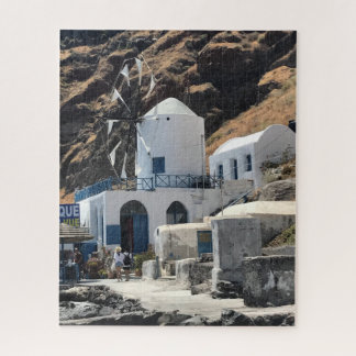 Puzzle de moulin à vent de la Grèce