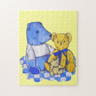 Puzzle de nounours d'ours toujours art mignon de la vie