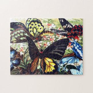 Puzzle de papillons