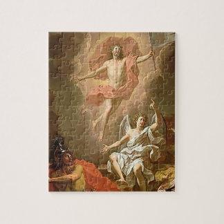 Puzzle de Pâques la résurrection de Jésus