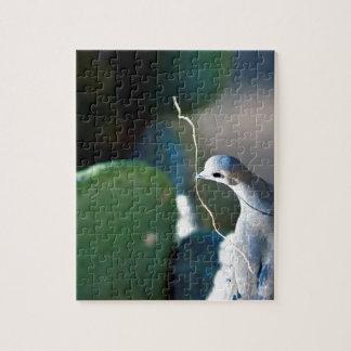 Puzzle de photo de colombe de nature