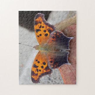 puzzle de photo du papillon 11x14 avec la