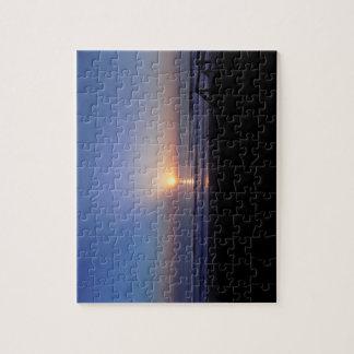 Puzzle de plage de lever de soleil
