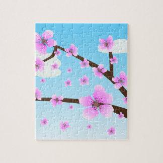 Puzzle de Sakura de fleurs de cerisier