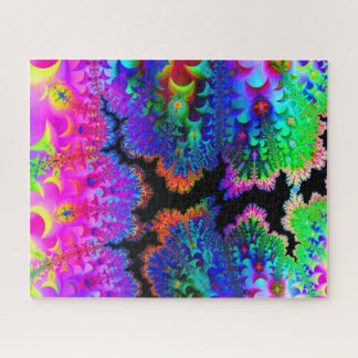 Puzzle de taille standard d'art de fractale de