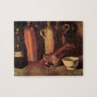 Puzzle De Van Gogh toujours bouteilles en pierre de la