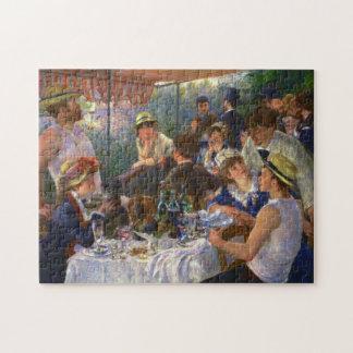 Puzzle Déjeuner de Renoir des beaux-arts de partie de