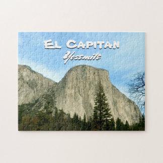 Puzzle d'EL Capitan de Yosemite