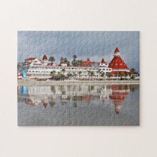 Puzzle Del d'hôtel Coronado - Coronado la Californie