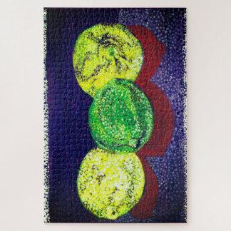 Puzzle Deux citrons et une chaux déconcerte