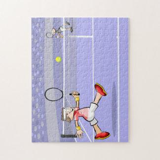 Puzzle Deux joueurs de tennis