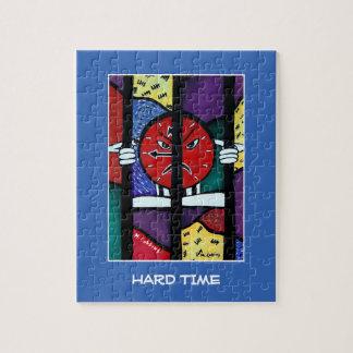 Puzzle Difficulté sur le bleu - morceaux de temps