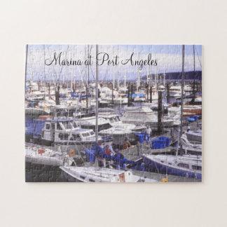 Puzzle Docks de bateaux d'Angeles de port de pêche de