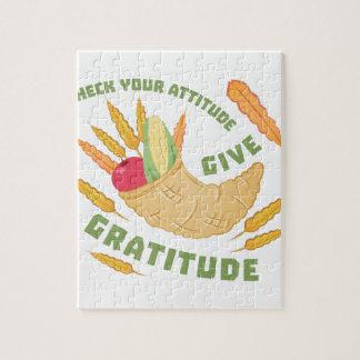 Puzzle Donnez la gratitude