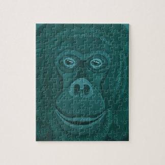 Puzzle d'orang-outan de Forest Green