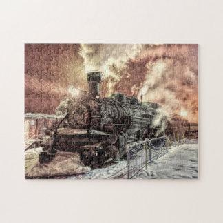 Puzzle du train 11x14