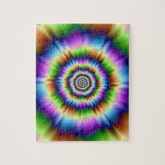 Puzzle Éclaboussure de couleur