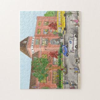 Puzzle École d'Etat 104 à Brooklyn