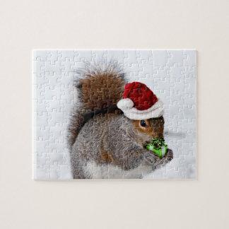 Puzzle Écureuil de Noël