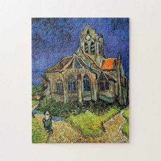 Puzzle Église de Van Gogh chez Auvers, architecture