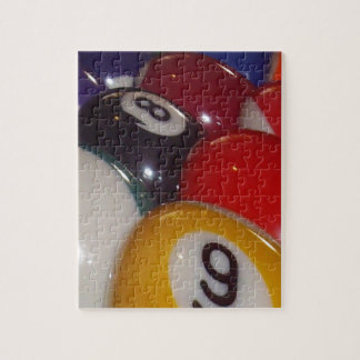 Puzzle Eightball les couleurs traditionnelles,