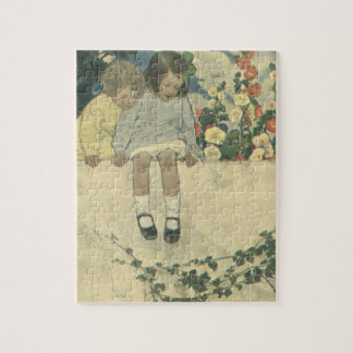 Puzzle Enfants vintages, mur Jessie Willcox Smith de