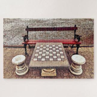 Puzzle Entretenir une partie d'échecs ?