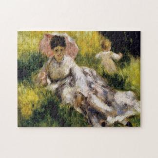 Puzzle Femme avec des beaux-arts de Renoir de parasol