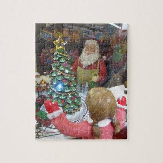 Puzzle Fenêtre de Noël