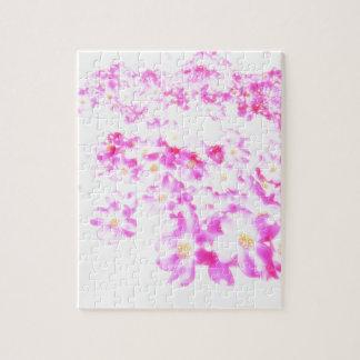 Puzzle Fleur rose de cornouiller