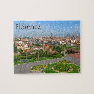 Puzzle Fleurs de ressort à Florence