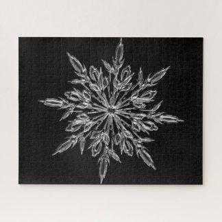 Puzzle Flocon de neige parfait pour les vacances de Noël