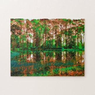 Puzzle Forêt d'imaginaire par Shirley Taylor
