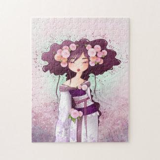 Puzzle geisha Dalia
