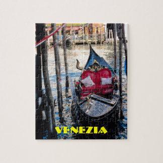 Puzzle Gondole à Venise Italie