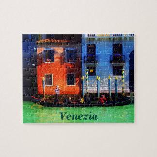 Puzzle Gondole vénitienne sur le canal grand