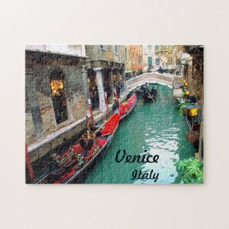Puzzle Gondoles Venise, Italie