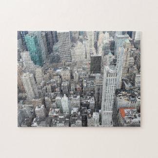 Puzzle Gratte-ciel de New York City d'en haut