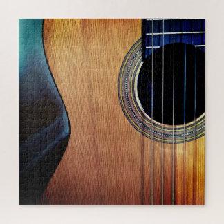 Puzzle Guitare acoustique musicale affligée par hanche