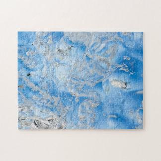 Puzzle Iceberg bleu frais
