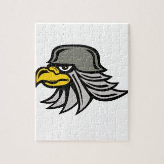 Puzzle Icône d'Eagle de fer