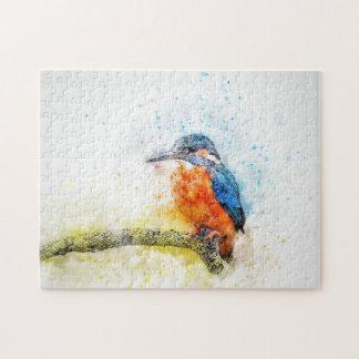 Puzzle Illustration colorée d'oiseau